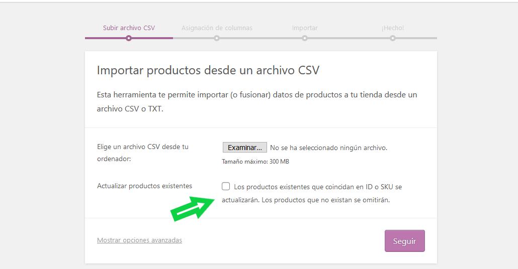 interfaz-importar-productos-woocommerce